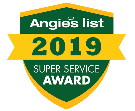 Angies List Super Service Award Winner 2019